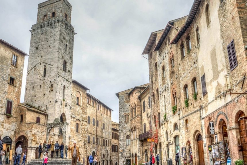 San Gimignano and its beauty rich in history