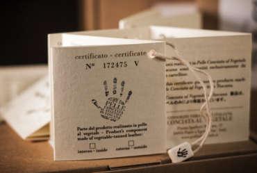 marchio garanzia cartellino