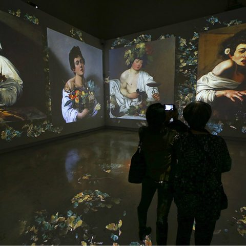 Caravaggio Experience: a contemporary approach to art