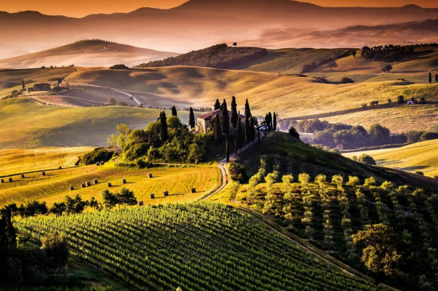 Val d'Orcia: a charming piece of Tuscany