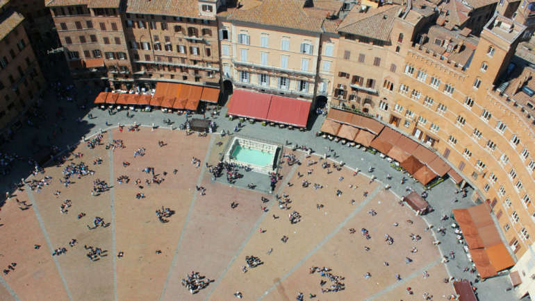 centro storico di siena