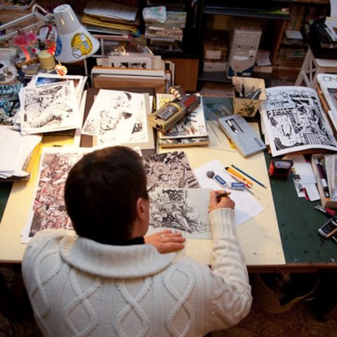 Marco Bianchini: one of the cartoonists of the Tex comic