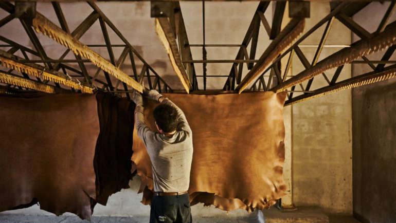 vacchetta leather