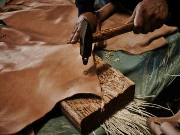 Genuine Italian Vegetable Tanned Leather Consortium